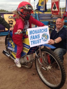 Jim Smith encouraging the future of Edinburgh Speedway
